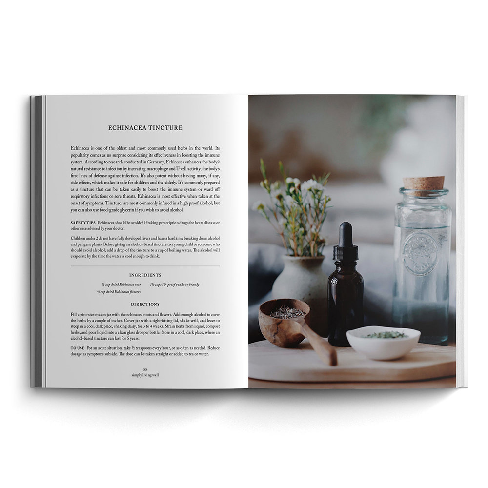 Book — simply living well